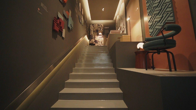 Italian Brand Florim's Inspiring Showroom Displays New Ways Of Using Porcelain Tiles In Your Home