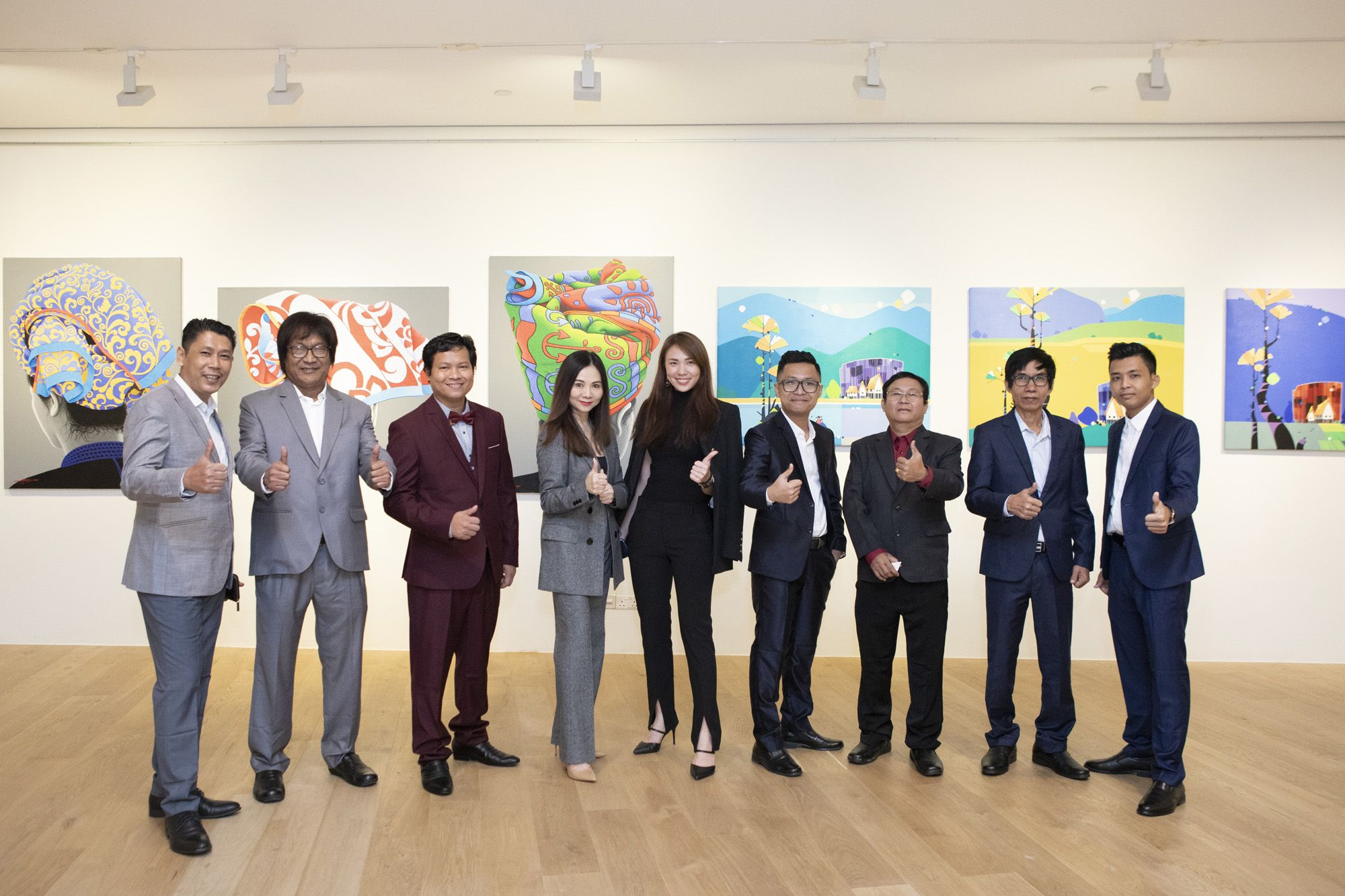 Moe Myint Zaw, CNK, Min Zayar Oo, Jacelyn Lai, Jasmine Foo, Ngwe Phyoe, Ngwe Aung, Kyi Hlaing Aung, Lapyae, Zat