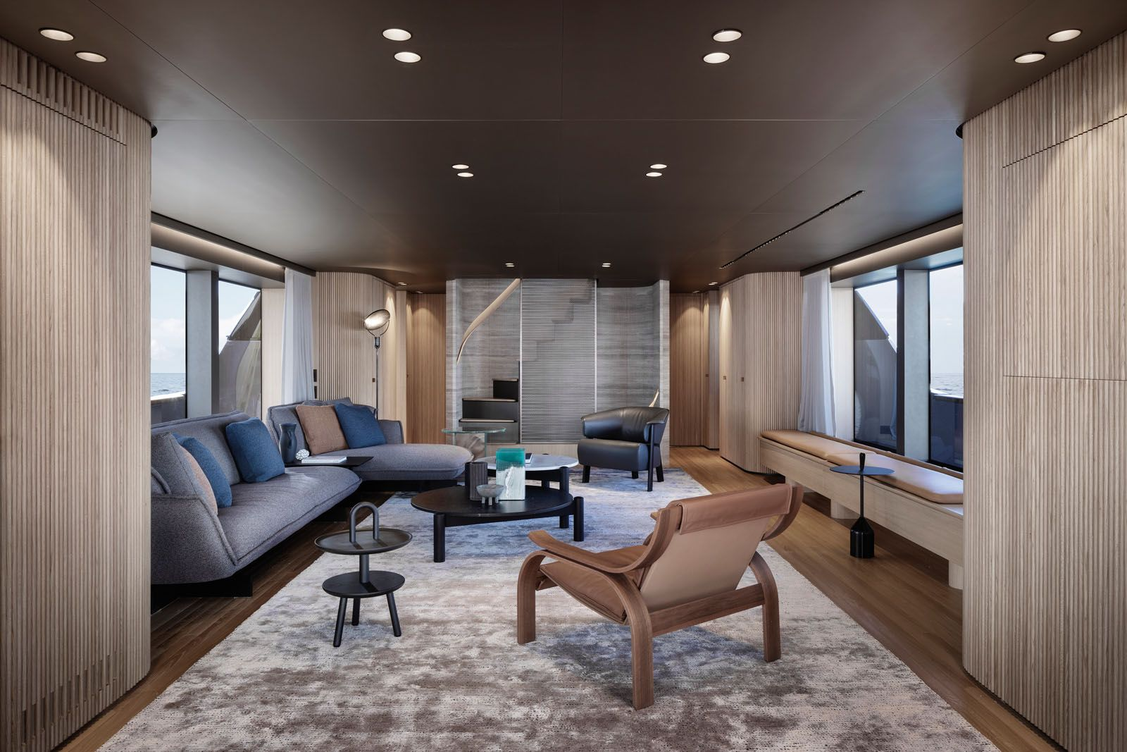 Architect Patricia Urquiola Designs A Sanlorenzo Yacht Made For The Nomadic Life