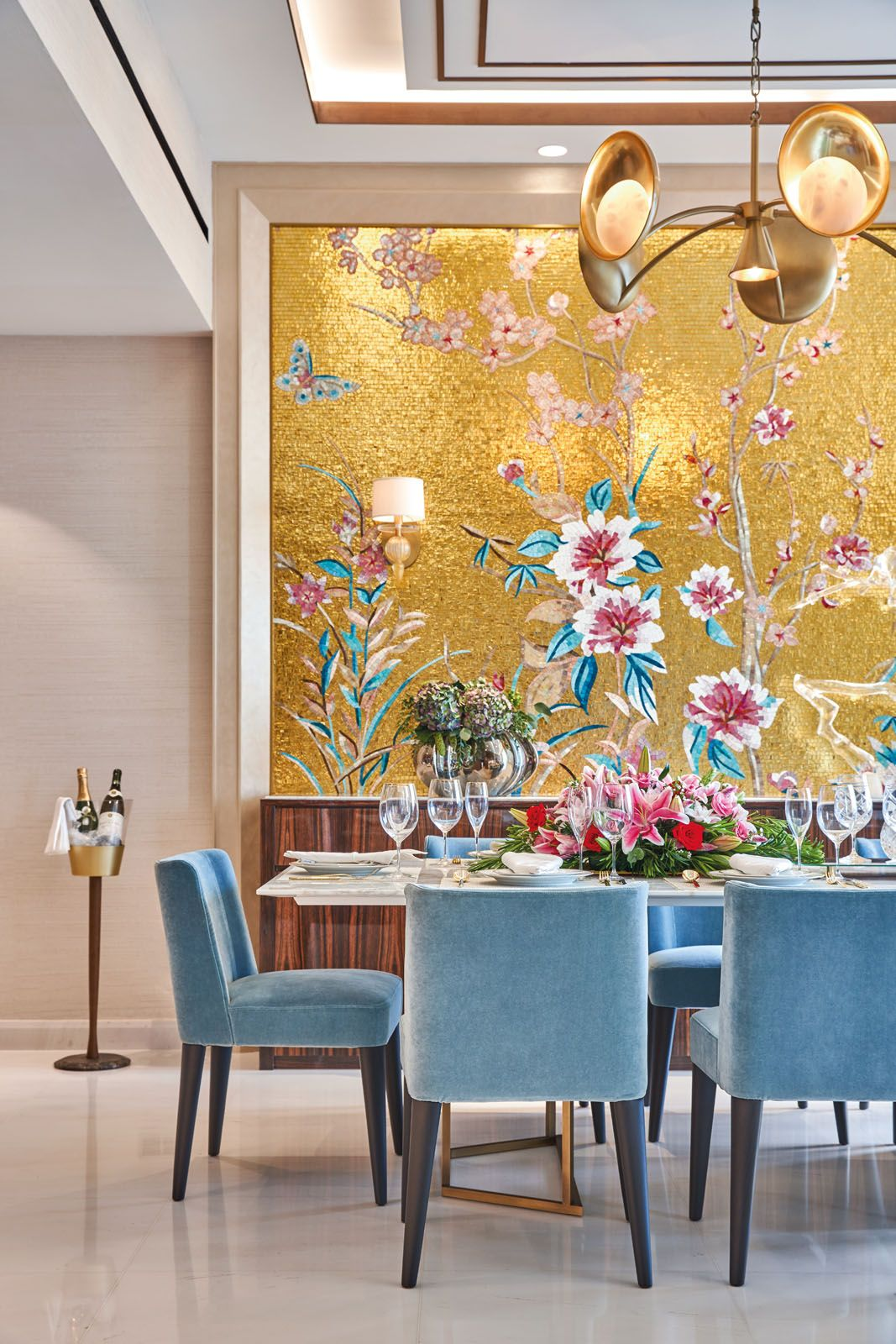 Home Tour This Apartment Combines Good Feng Shui With Colourful Interiors Tatler Hong Kong