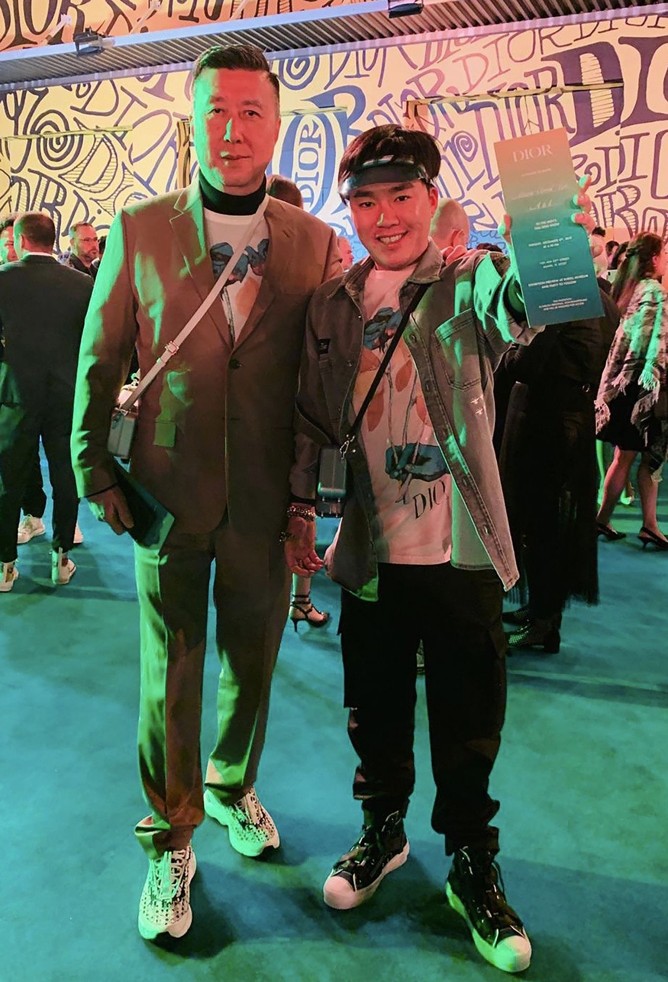 A Visual Fashion Diary: Clement Piak Attends The Dior Men Pre-Fall 2020 Show With Dad Jeffrey