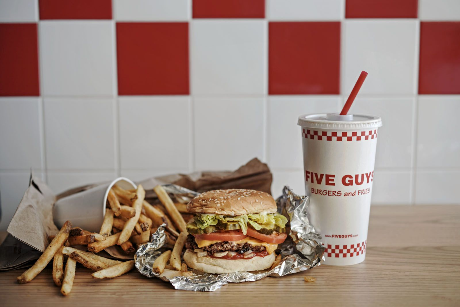 From Burgers To Milkshakes, Here's What We Love At Five Guys Singapore