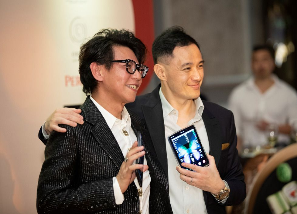 Why Benjamin Kim and Alex Low Are Obsessed With Their Samsung Galaxy Fold