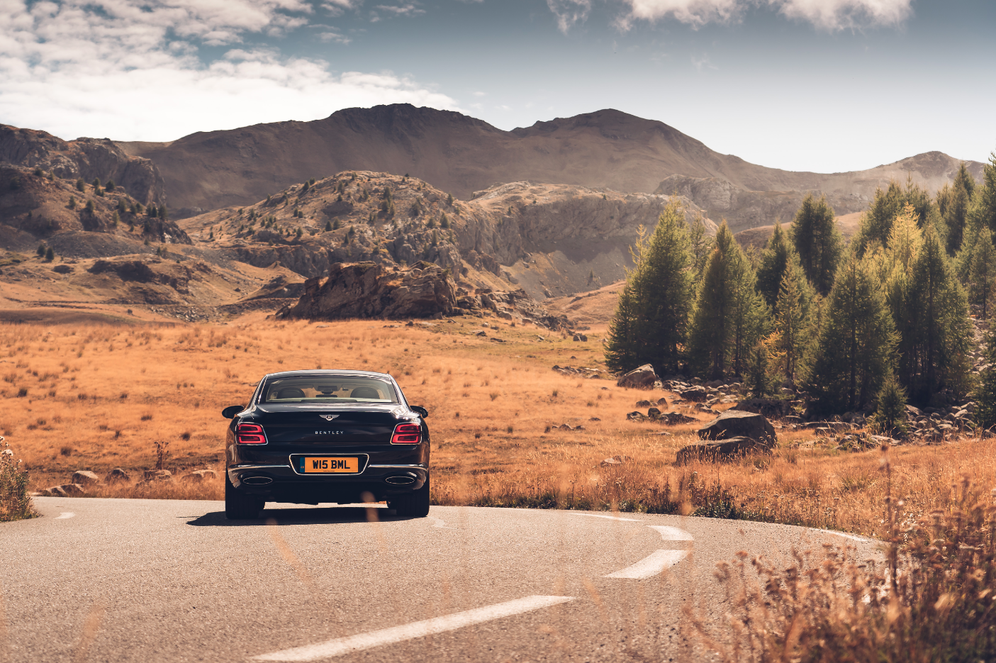 The New Bentley Flying Spur Is Surprisingly Nimble On The Narrow Roads Of Monaco