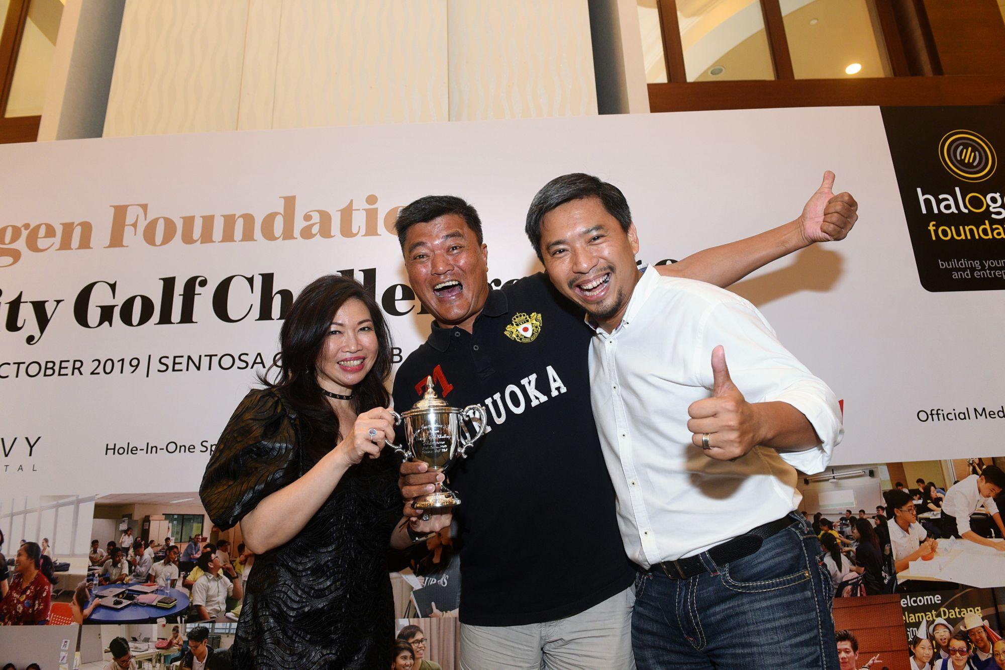Jessie Ho-Thong, Alvin Oh, Martin Tan