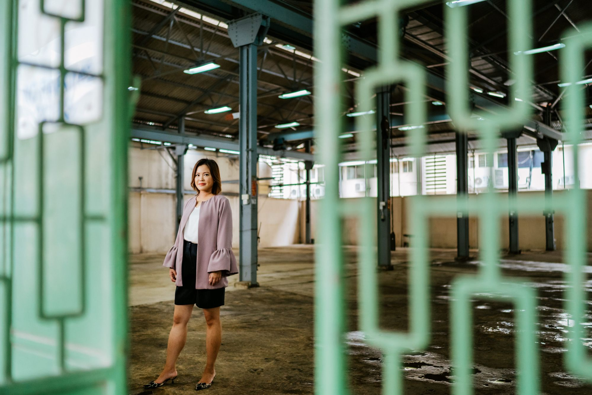 Gallerist Audrey Yeo Transforms This Former Ship Repairs Workshop And Warehouse Into A Pop-Up Art Destination
