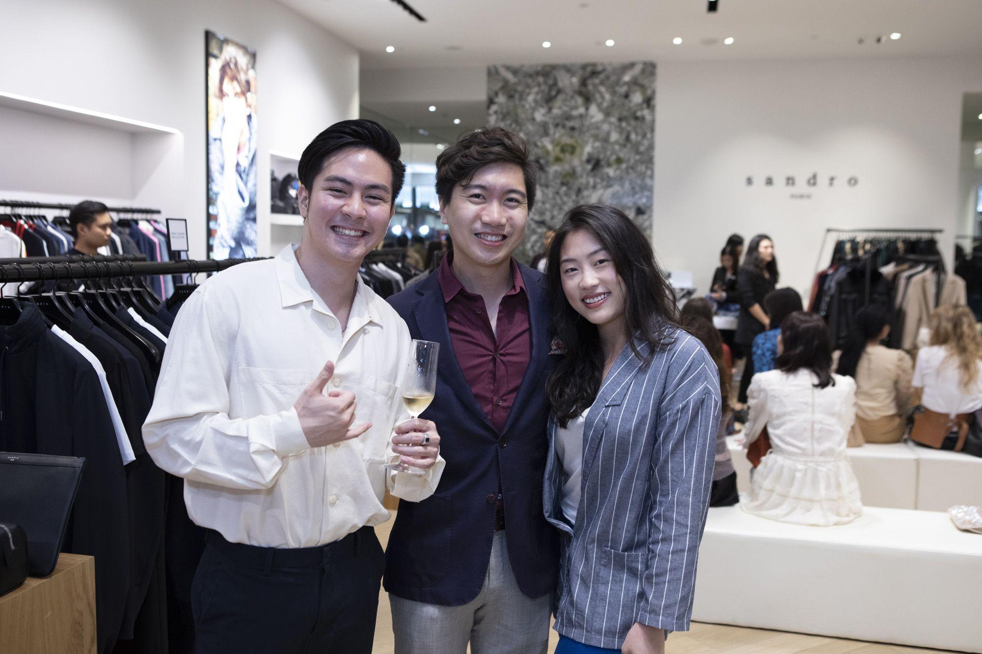 Maverick Mok, Johannes See, Rachel Lam