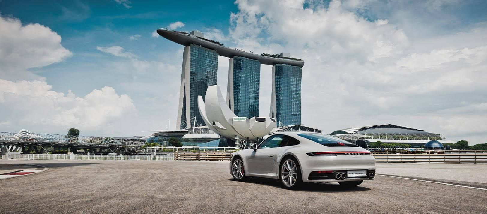 Porsche To Launch Its First Charging Stations In Singapore At Marina Bay Sands