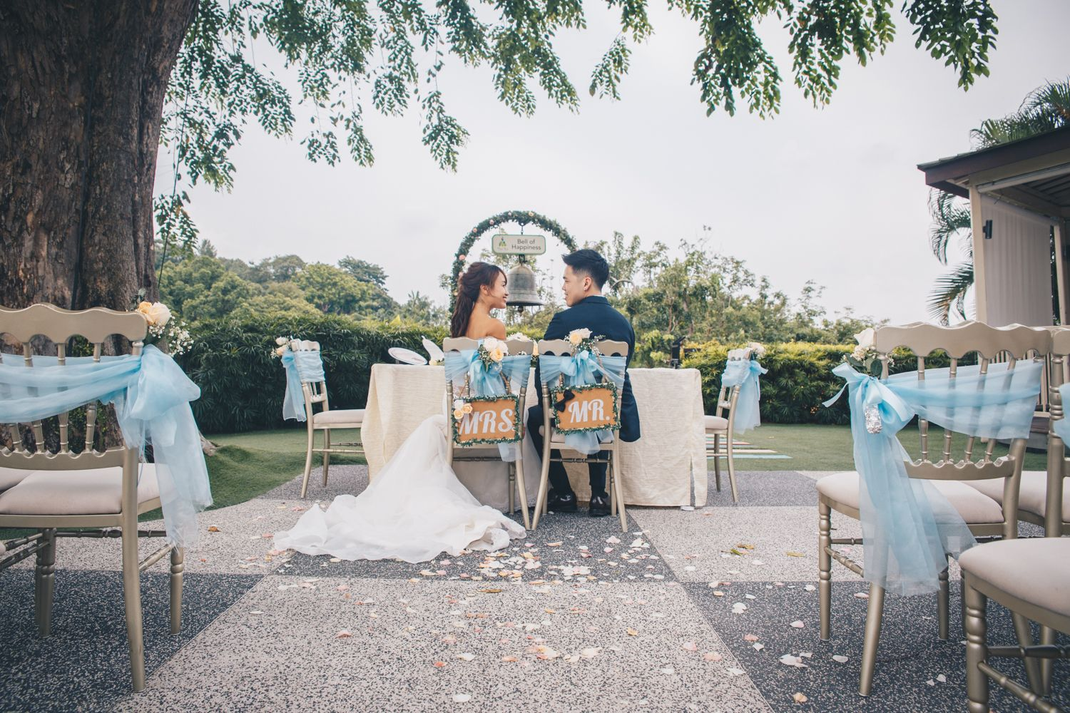 The Most Romantic Garden Wedding Venues in Singapore