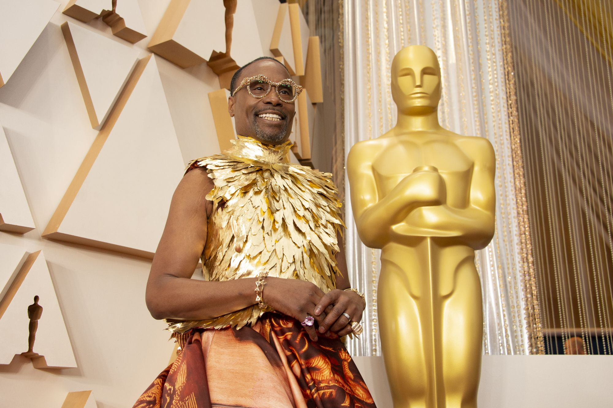 THE OSCARS® - The 92nd Oscars® broadcasts live on Sunday, Feb. 9,2020 at the Dolby Theatre® at Hollywood & Highland Center® in Hollywood and will be televised live on The ABC Television Network at 8:00 p.m. EST/5:00 p.m. PST. (Eric McCandless via Getty Images)BILLY PORTER
