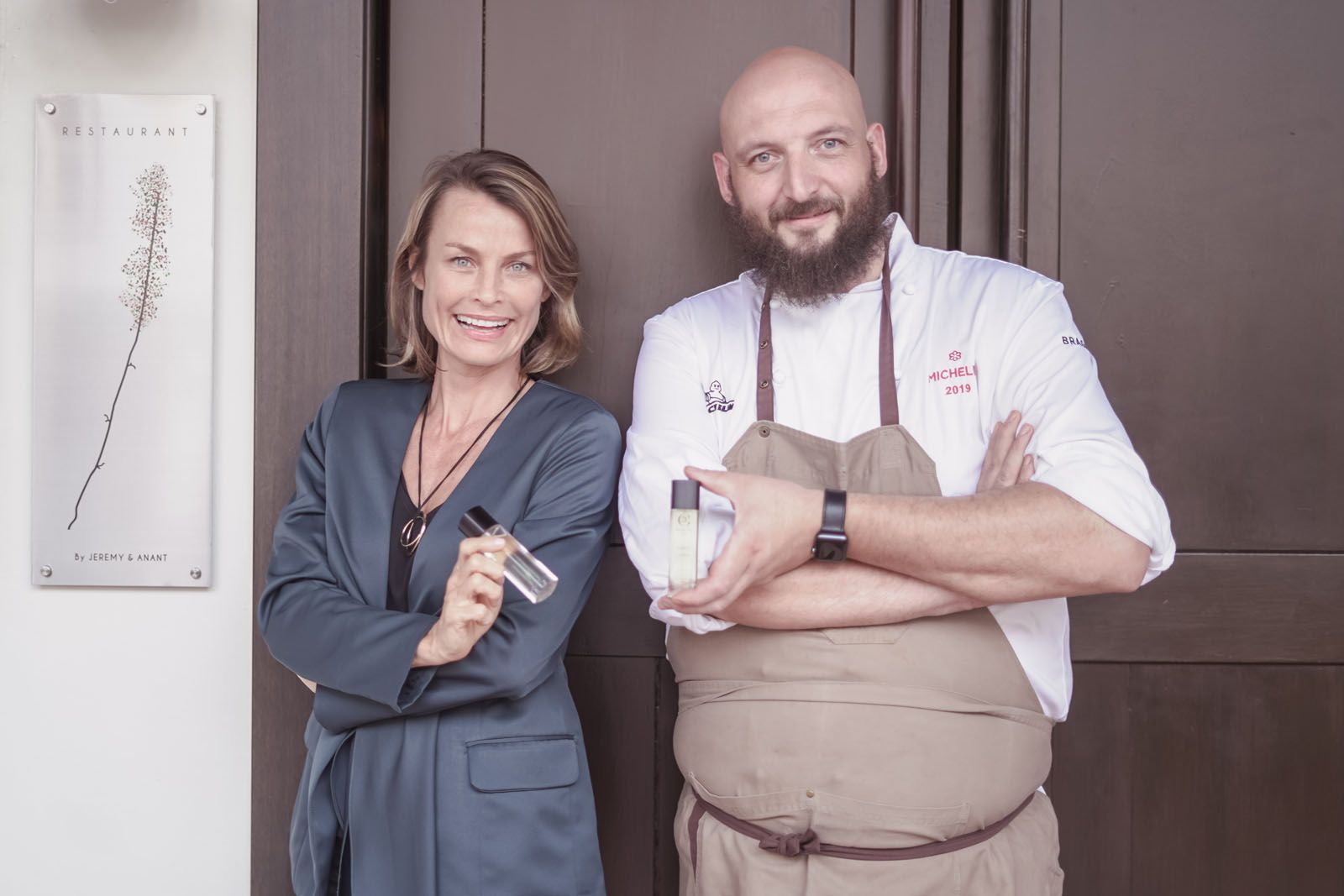 Chef Jeremy Gillon of Michelin-Starred Restaurant Jag Collaborates with Maison 21G to Create a Unique Scent & Savour Menu