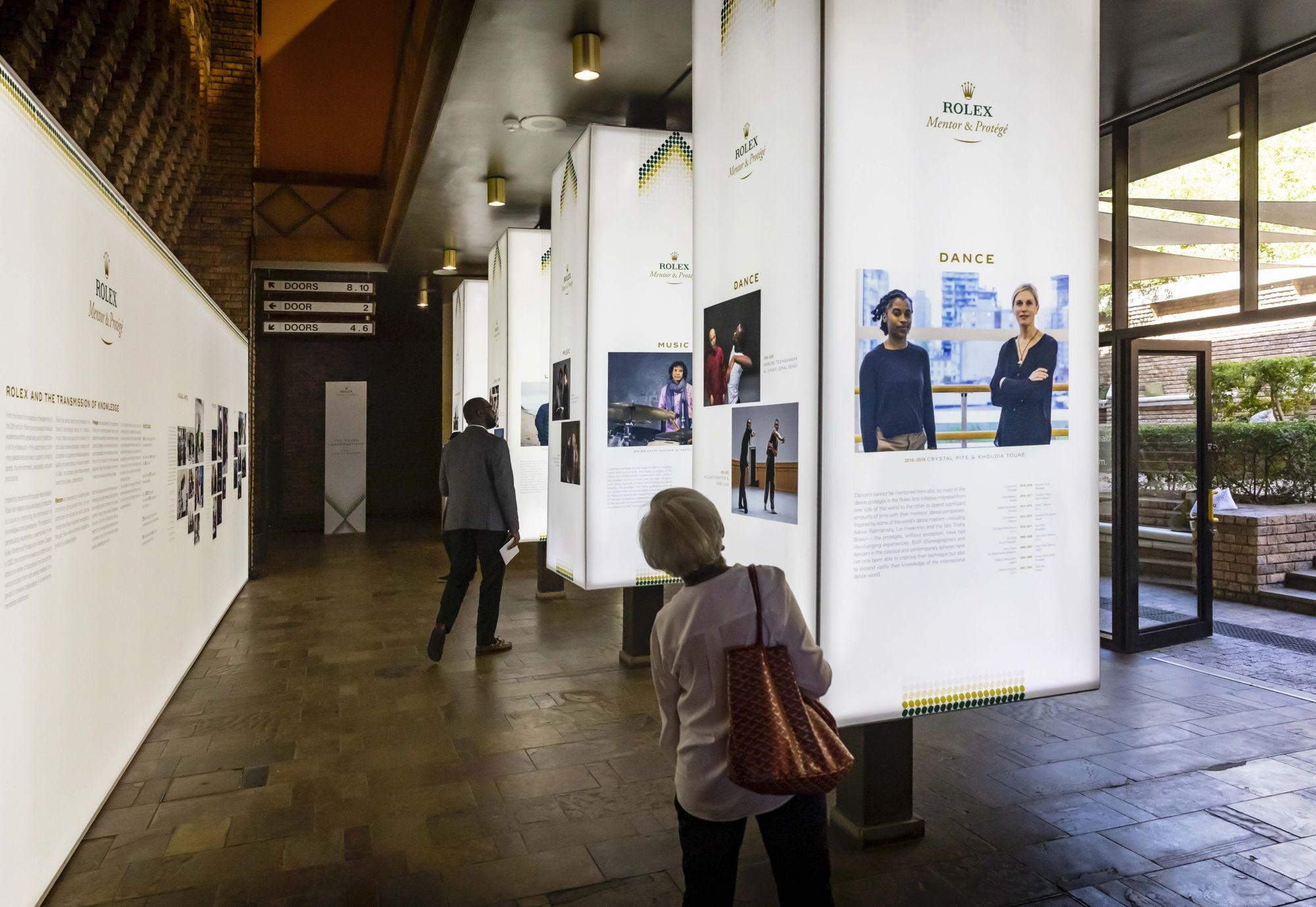An exhibition to showcase the 2018-2019 cycle of the Rolex Mentor and Protégé at Rolex Arts Weekend at the Baxter Theatre Centre