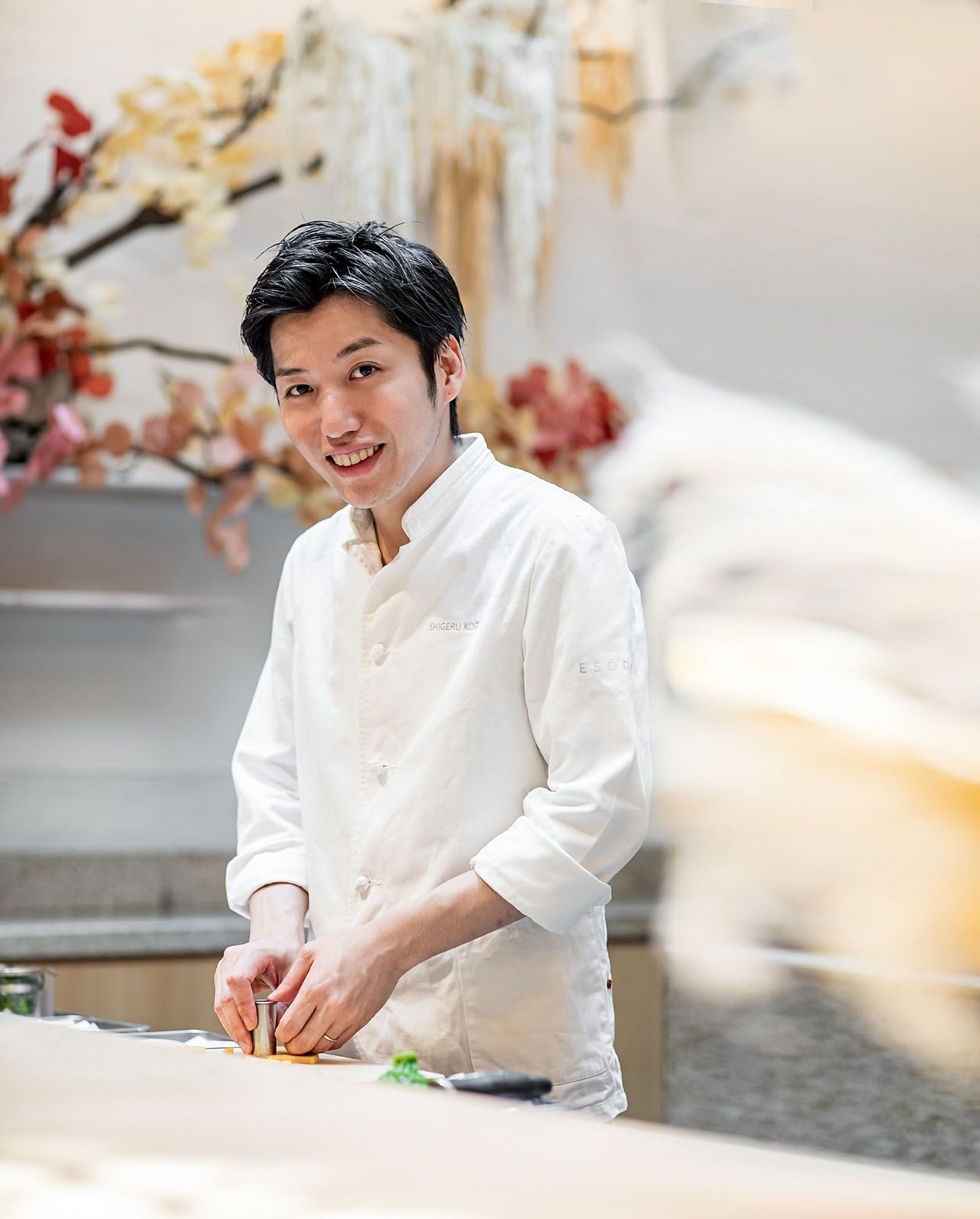 Chef Shigeru Koizumi