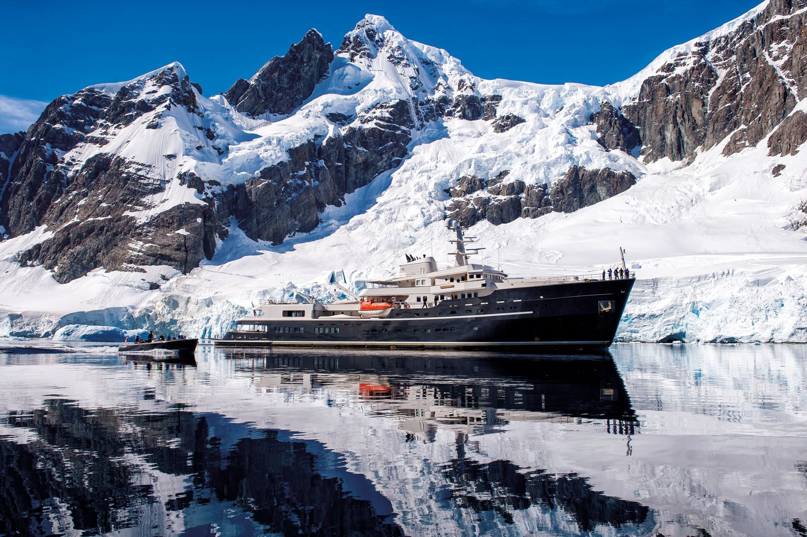 It is Now Possible to Sail on a Yacht to the Most Inaccessible Places on Earth in Luxury