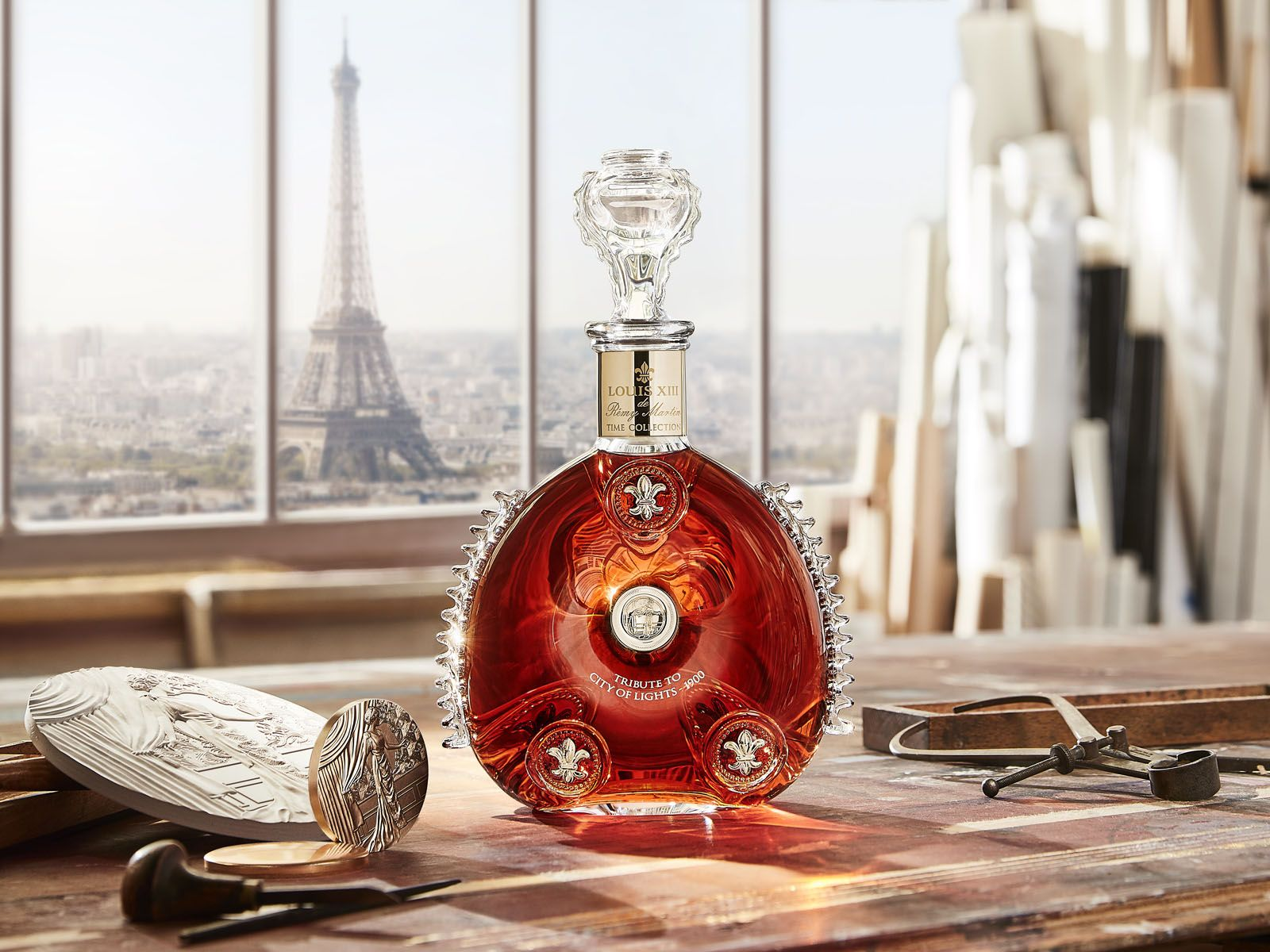 Louis XIII Cognac Pays Tribute to Paris in the 1900s with a Limited-Edition Time Collection