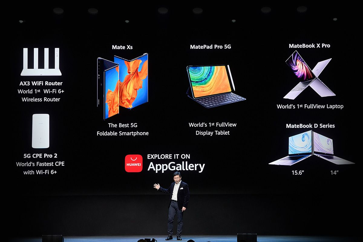 The Key Launches Announced By Huawei, Including The Foldable Mate Xs Smartphone Coming To Singapore in March