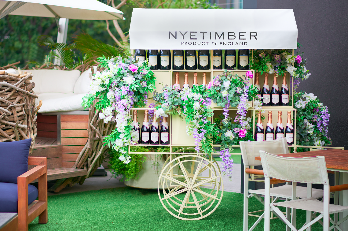 Attend the Sakura Festival at Gardens by the Bay or Visit an Exclusive Nyetimber Pop-Up This Week