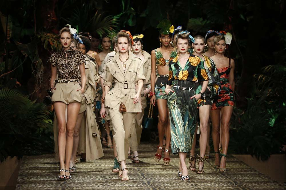 Tatler 10: Perfect Safari Dressing With Dolce & Gabbana's Spring/Summer 2020 Collection