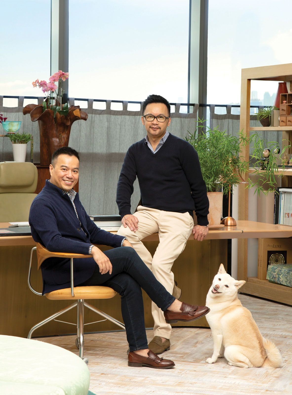 AB Concept co-founders Terence Ngan and Ed Ng (pictured right)