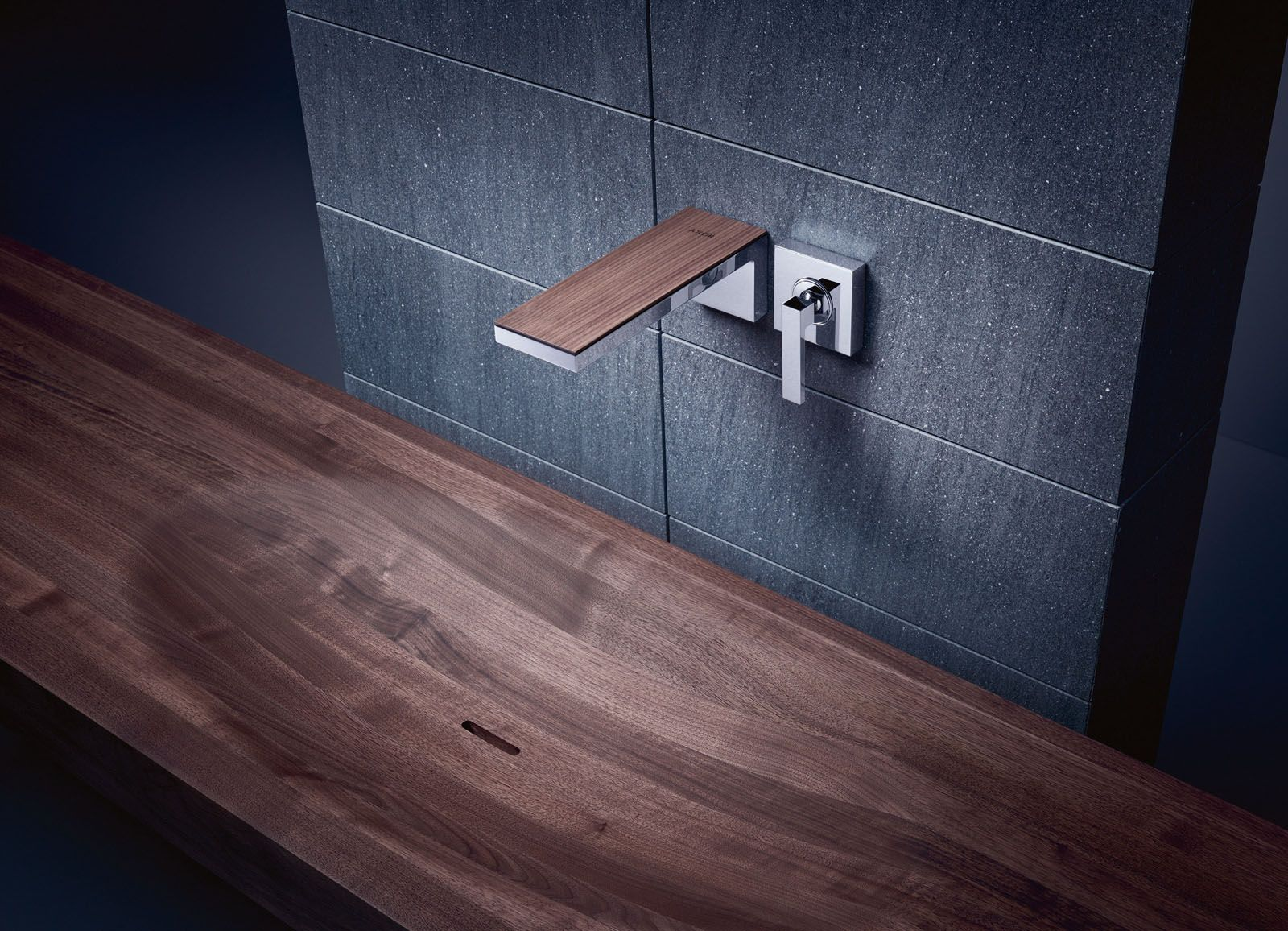 Axor MyEdition wall-mounted faucet, from Hansgrohe