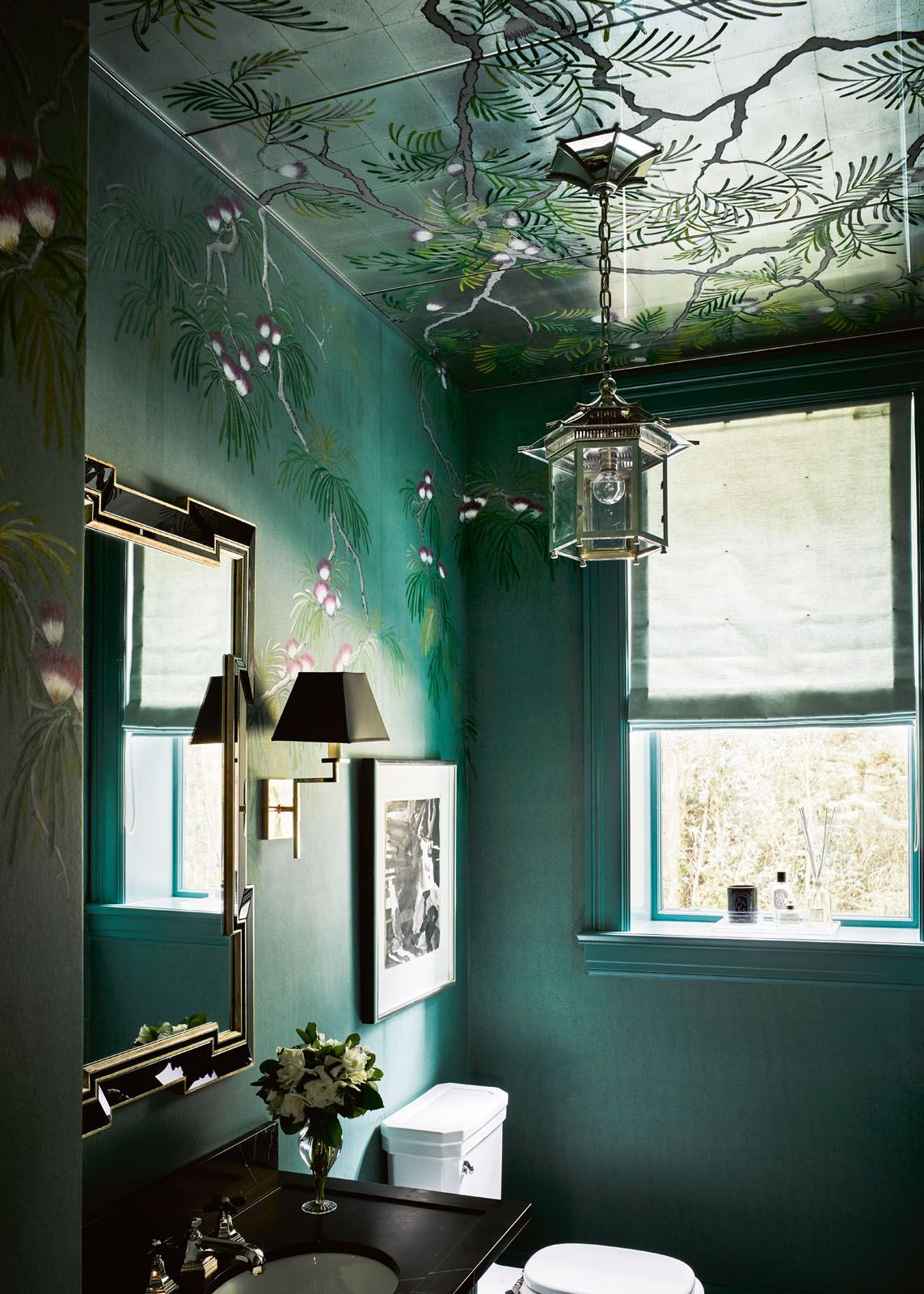 De Gournay Silk Tree wallpaper, from degournay.com