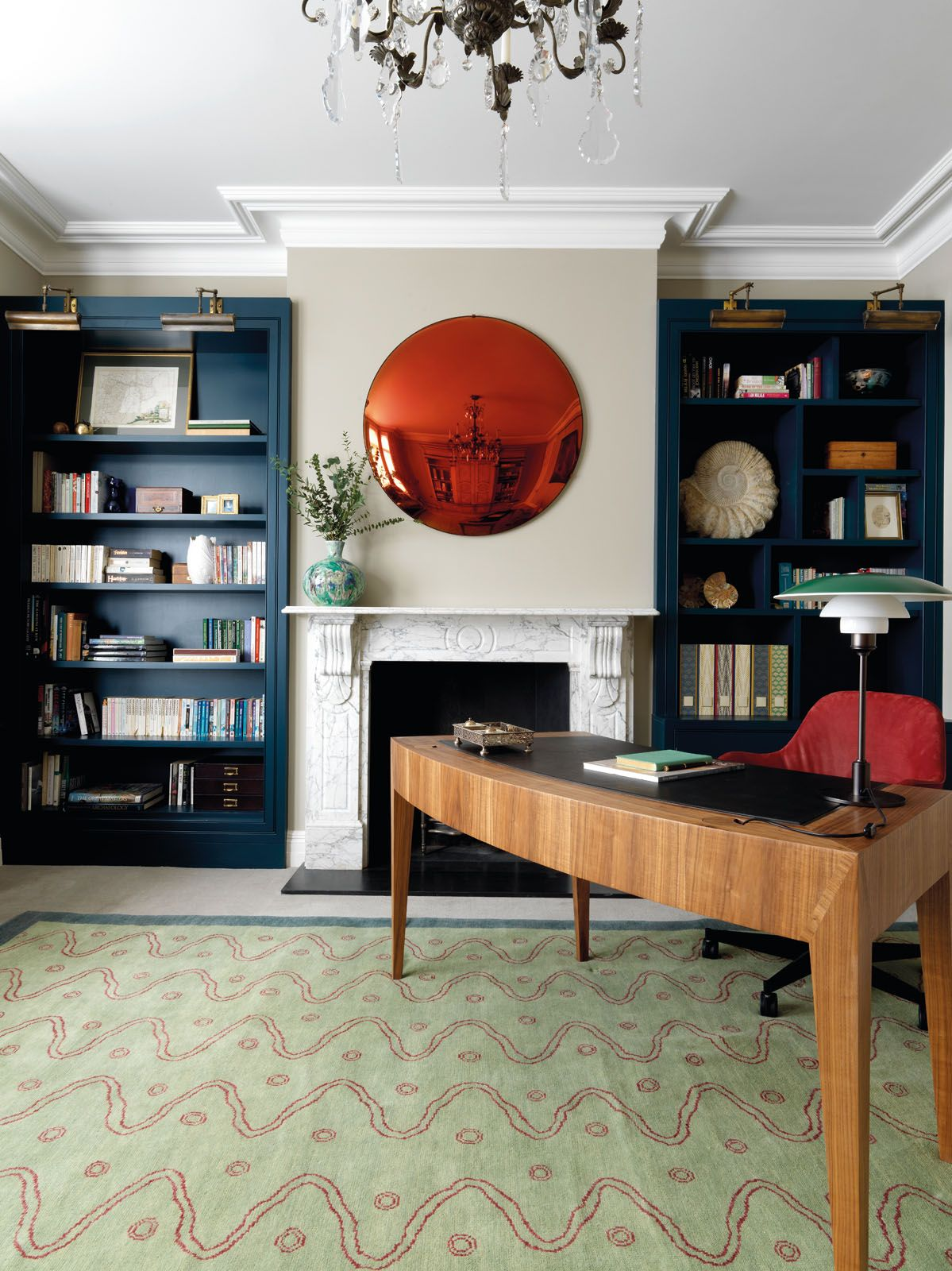 A London Townhouse With Colourful Mix