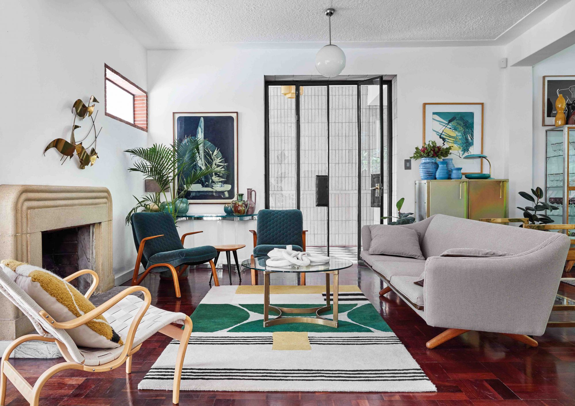 Home Tour: A Bauhaus-Inspired House In Cape Town That Combines Greenery With Mid-Century Chic
