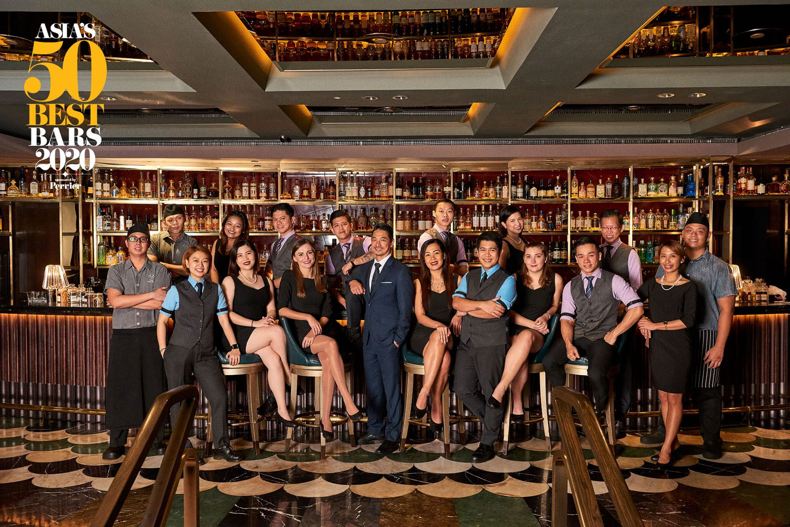 Manhattan Bar Wins Prestigious New Award at Asia's 50 Best Bars 2020