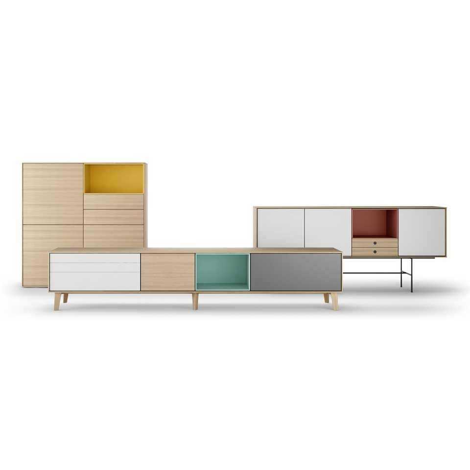 The Aura sideboard collection from Treku