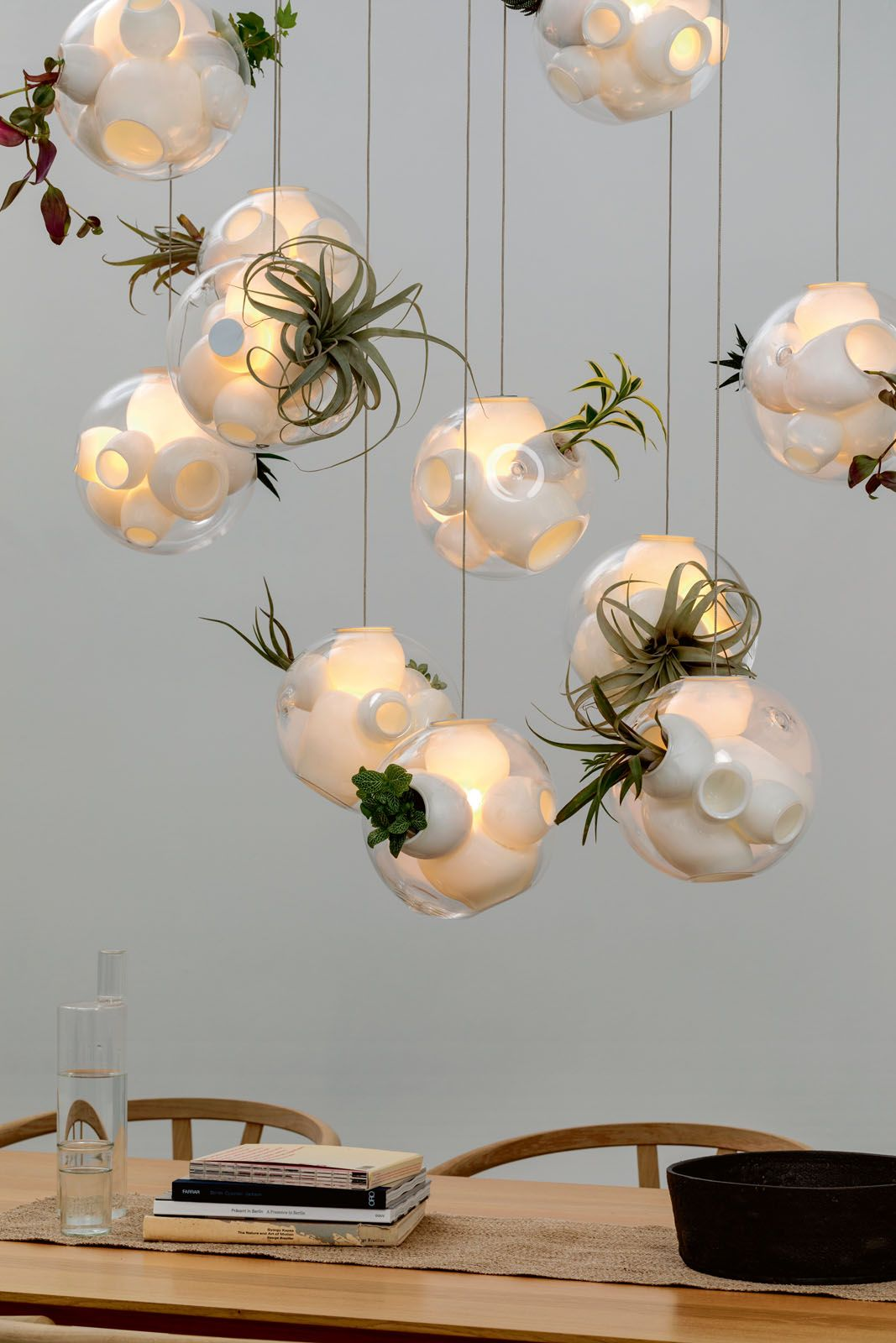 Bocci 38.11V lamps by Omer Arbel, from Space Furniture