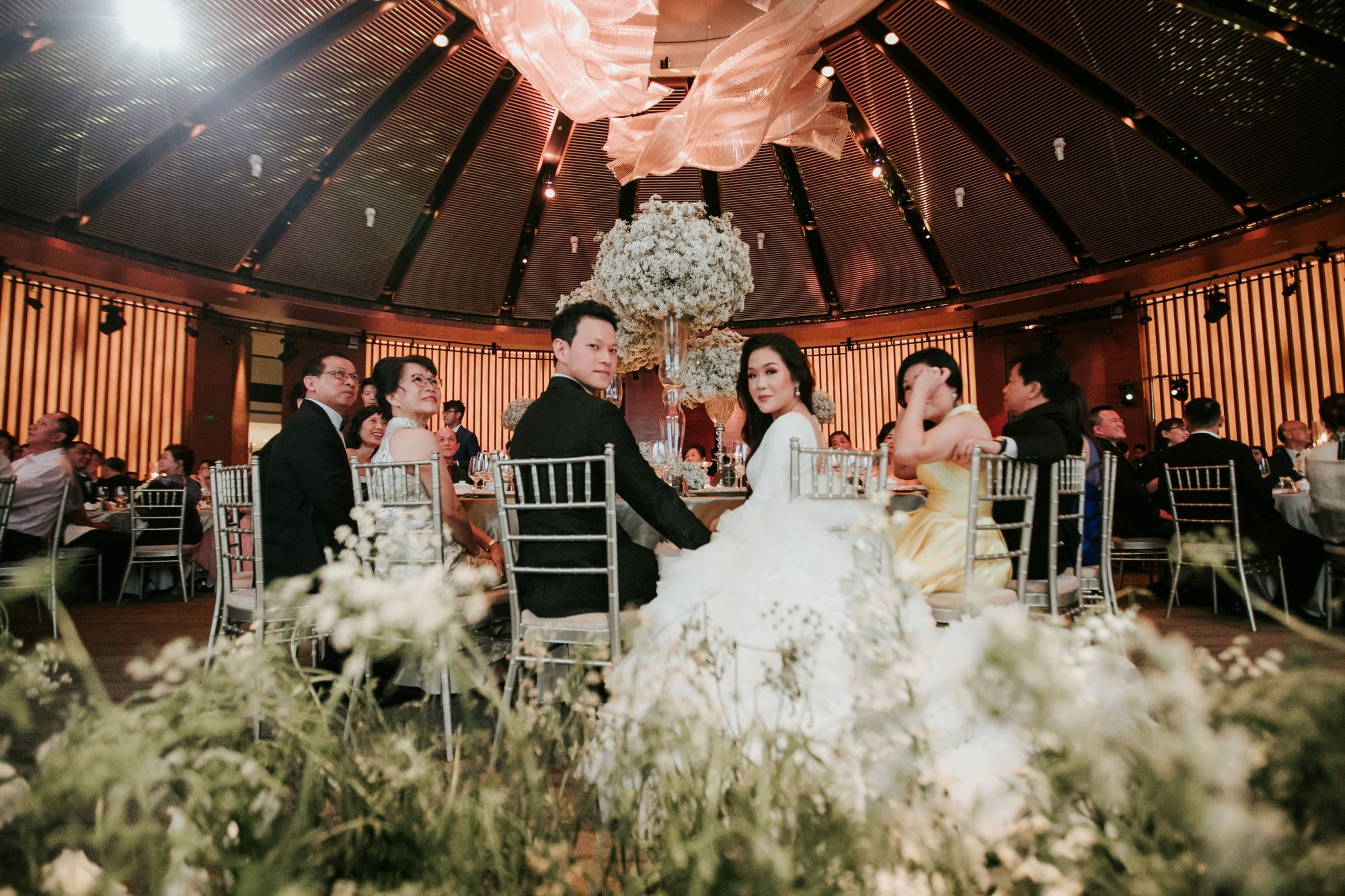 From Church Solemnisation to Wild After-Party: A Couple's Unforgettable Wedding Weekend in Singapore
