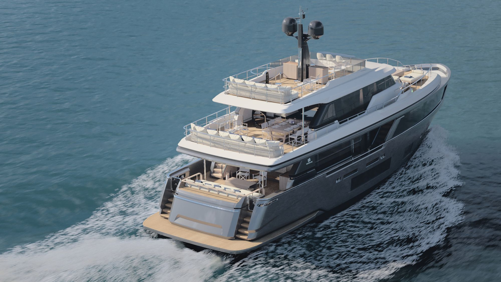 5 Things To Know About The New Custom Line Navetta 30 By Italian Shipbuilder Ferretti Group