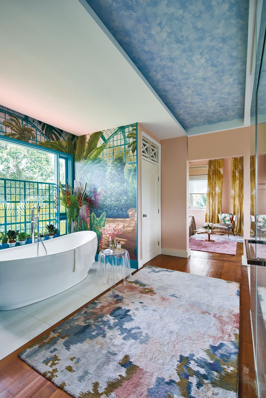 A bathroom crafted by Design Intervention