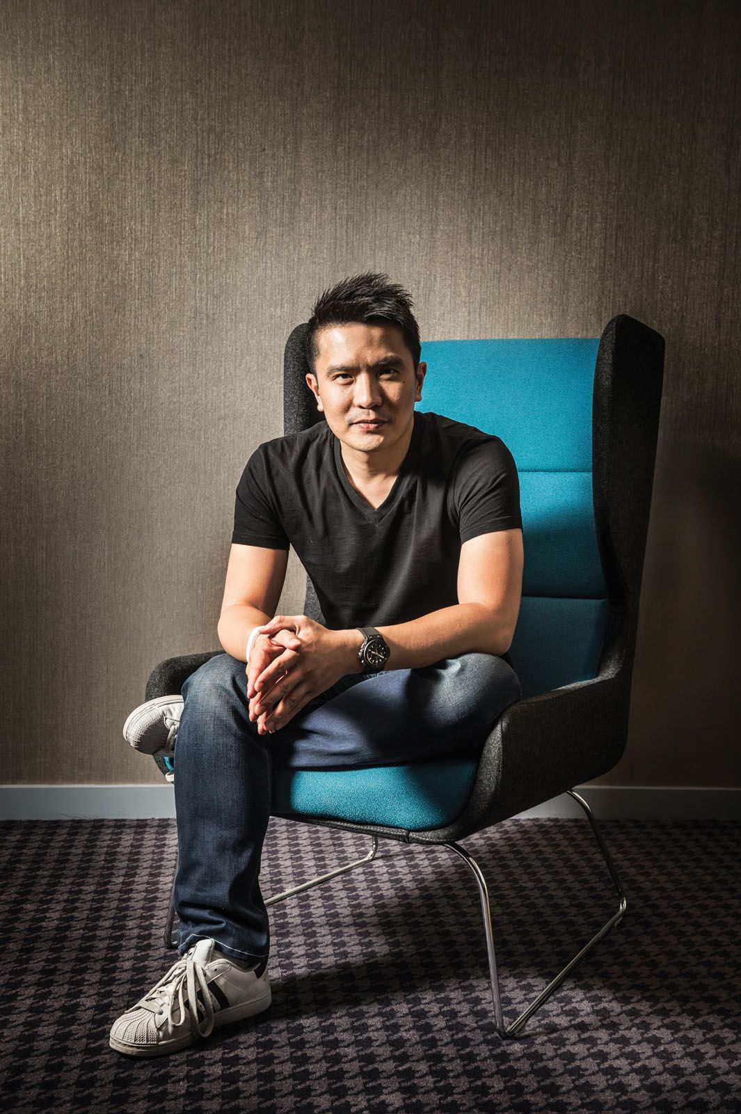Razer co-founder and CEO Tan Min-Liang has plans to expand the company's ecosystem beyond just gaming equipment (image by Kevin Nixon/Edge Magazine/Future via Getty Images)
