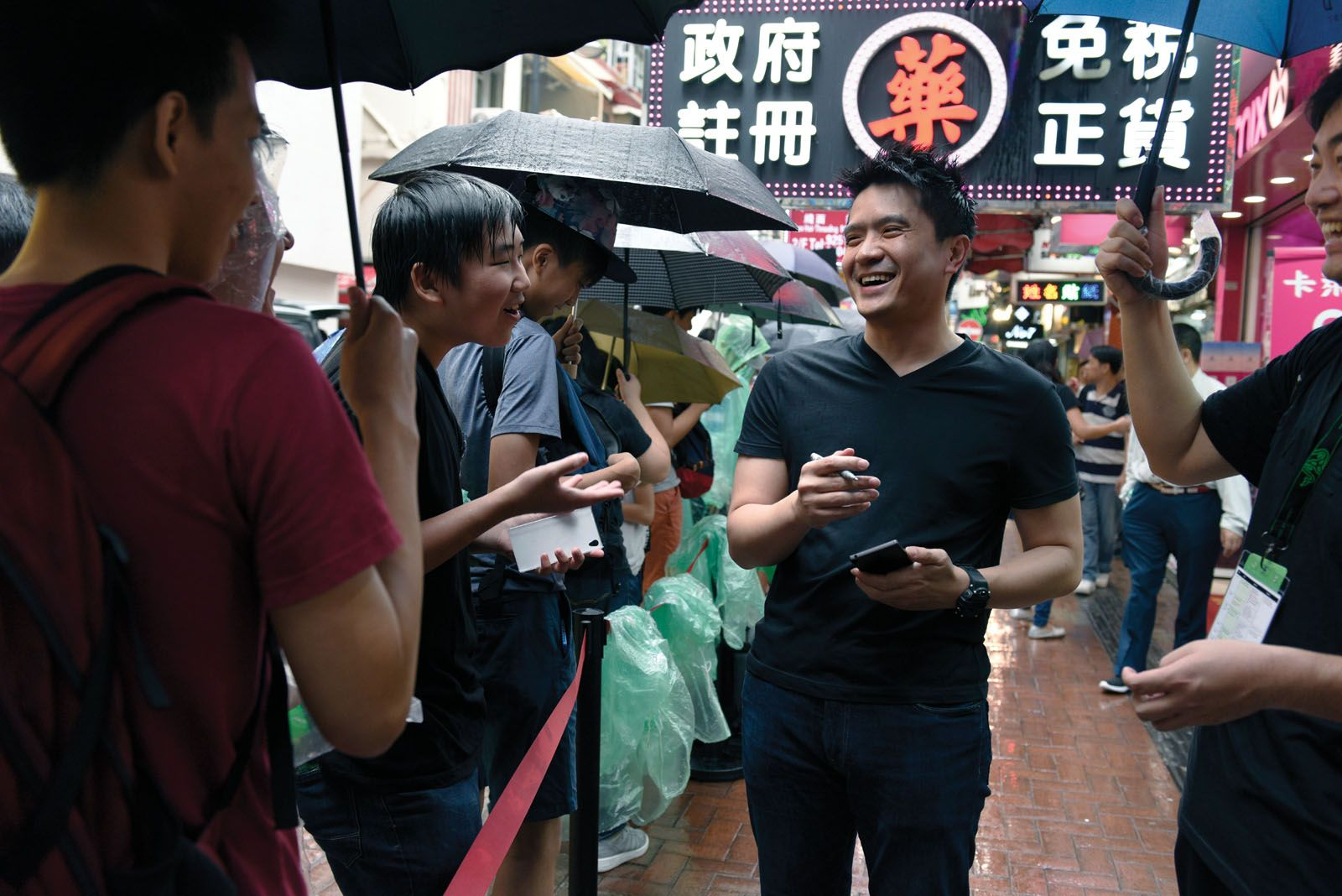 Tan is revered and respected in the gaming scene as he meets Razer fans in Hong Kong
