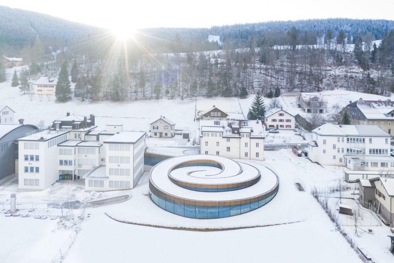 The Musée Atelier Audemars Piguet Is A Spiral Museum Amid The Swiss Alps
