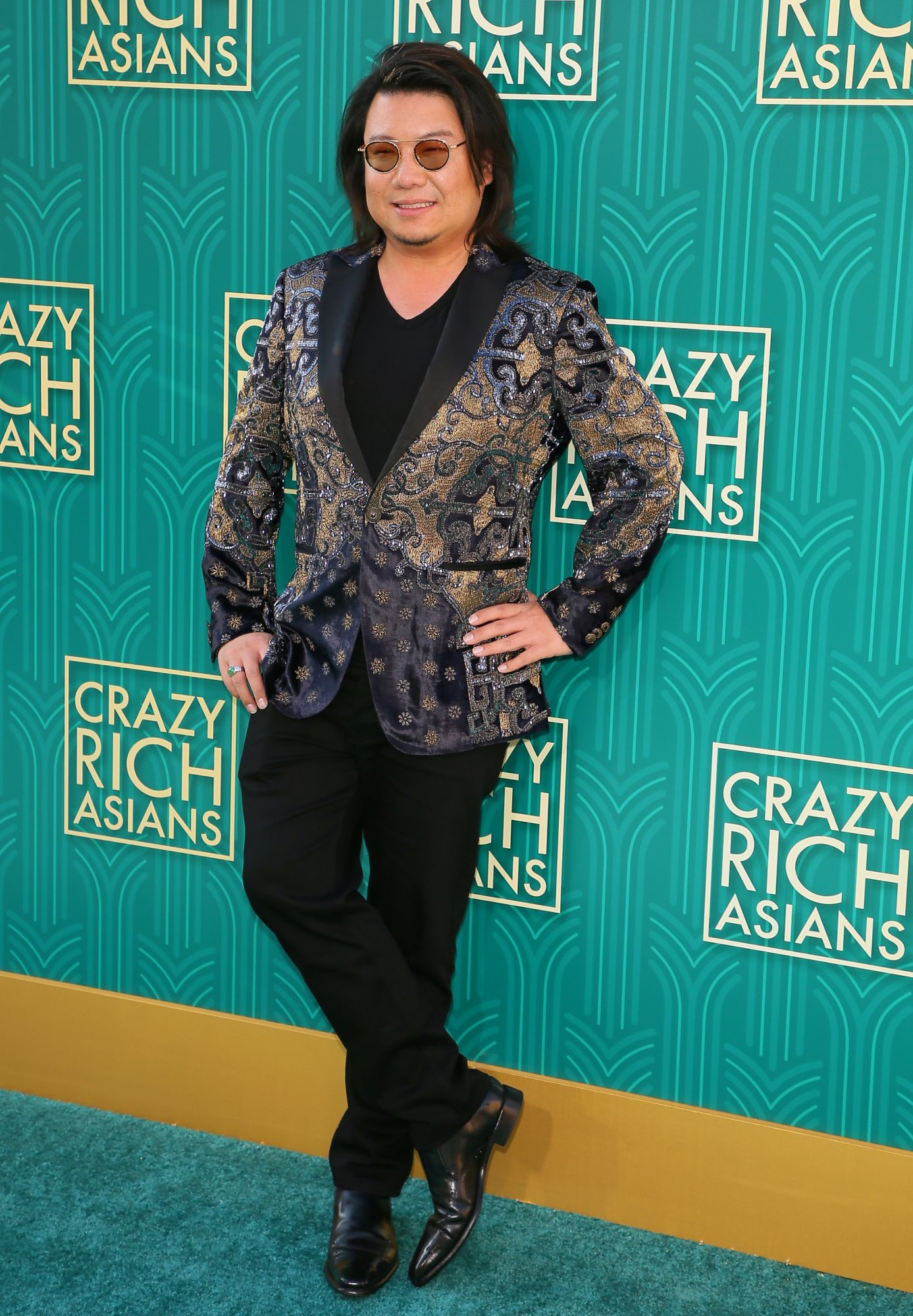 "Novelist Kevin Kwan, author of ""Crazy Rich Asians"", attends the premiere of Warner Bros Pictures' ""Crazy Rich Asians"" in Hollywood, California, on August 7, 2018. (Photo by JEAN-BAPTISTE LACROIX / AFP)"
