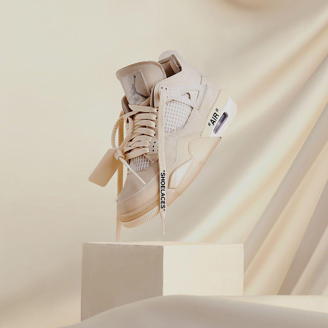 Air Jordan IV x Off-White For Women