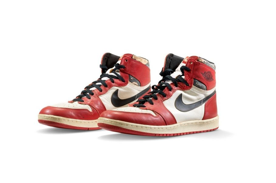 Michael Jordan's Iconic Air Jordan 1 Sneakers Expected to Set a New Record For a Sports Shoe