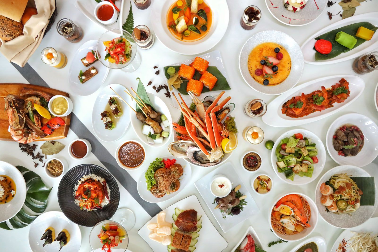 Where to Eat in Singapore This Week: The Line, Akira Back, One-Ninety Restaurant, Shoukouwa, Peach Garden