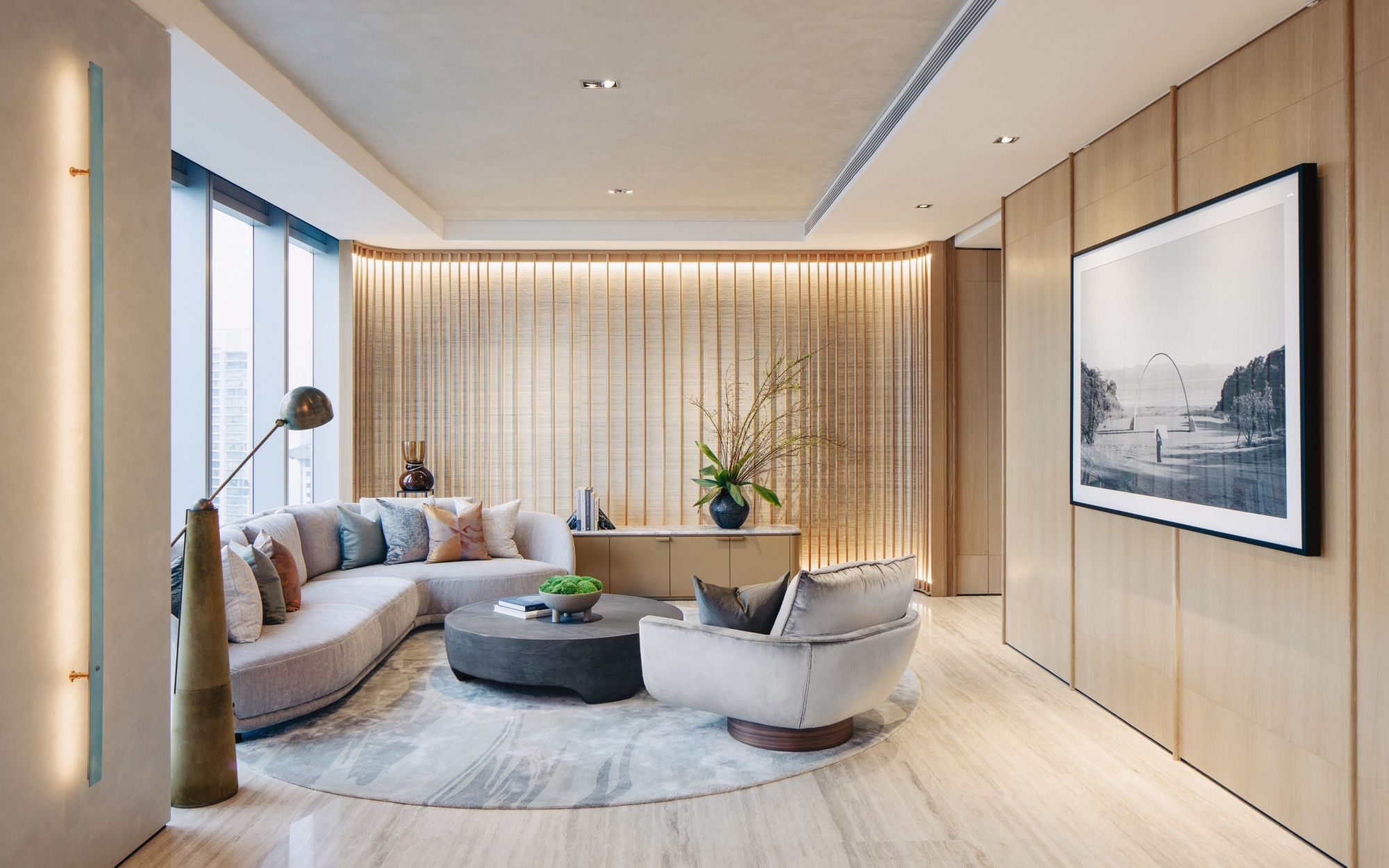 Home Tour: A Japanese-Style Penthouse In Singapore