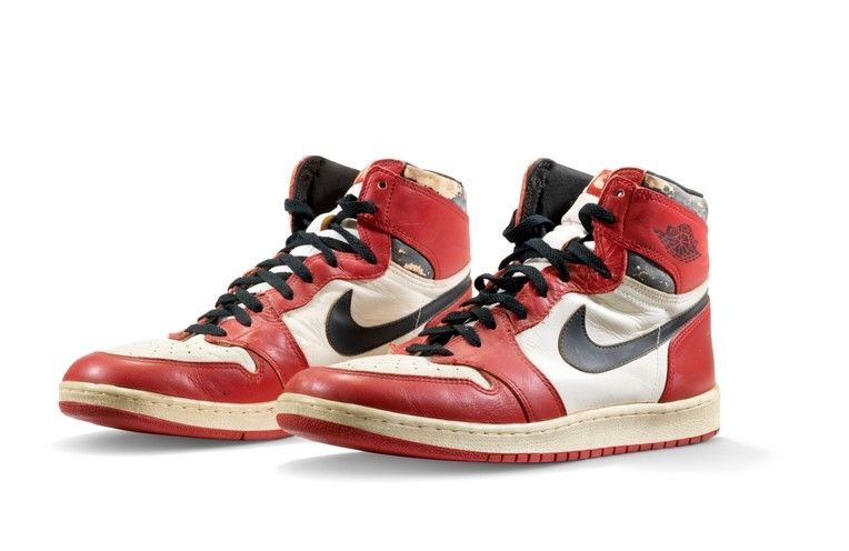 Michael Jordan's Air Jordan 1 Highs Sell for US$615,000 to Set a New Record