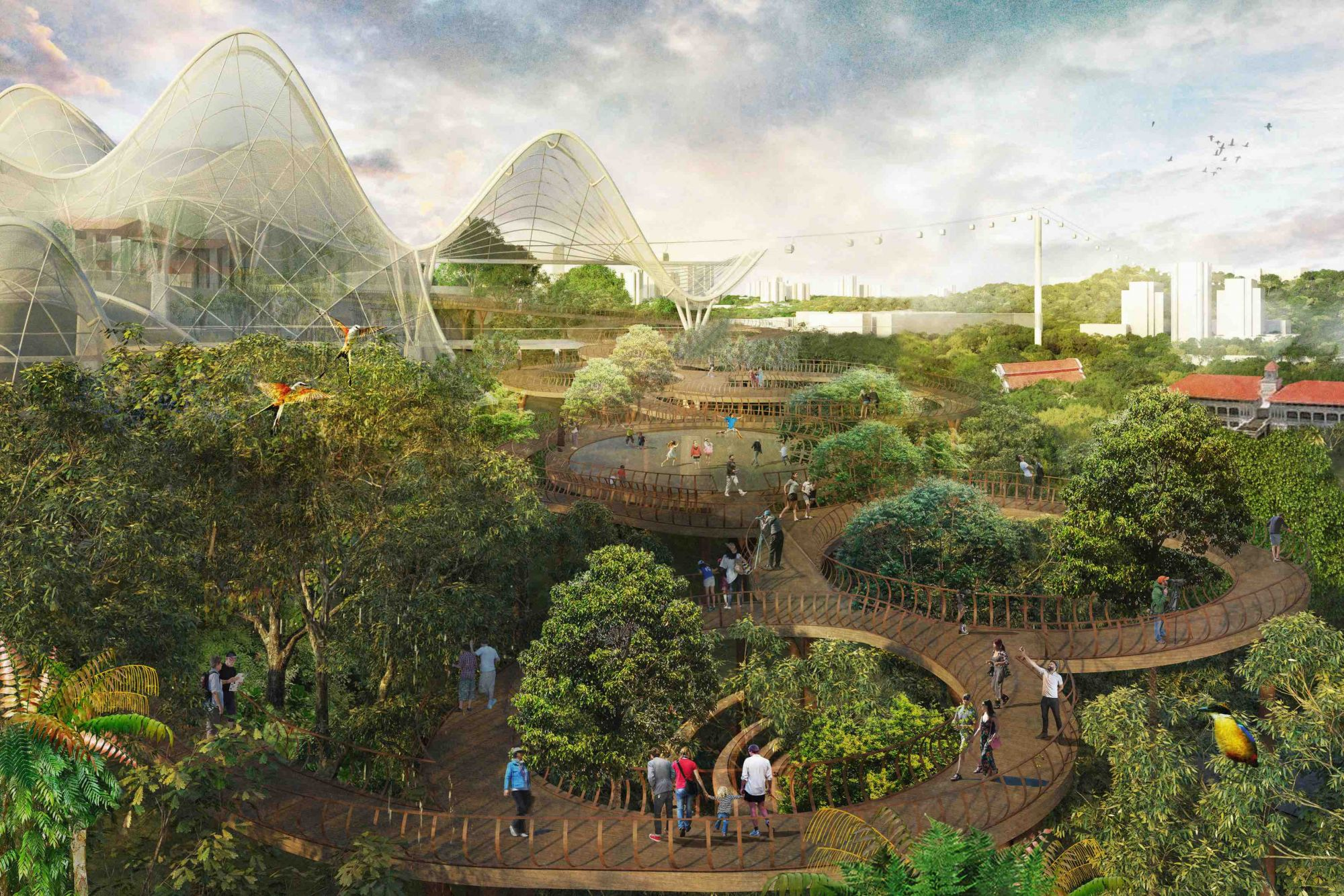 景觀設計師將成環境保育的真實英雄?新加坡Gardens By The Bay的景觀建築師告訴我們,如何將建築與自然合而為一