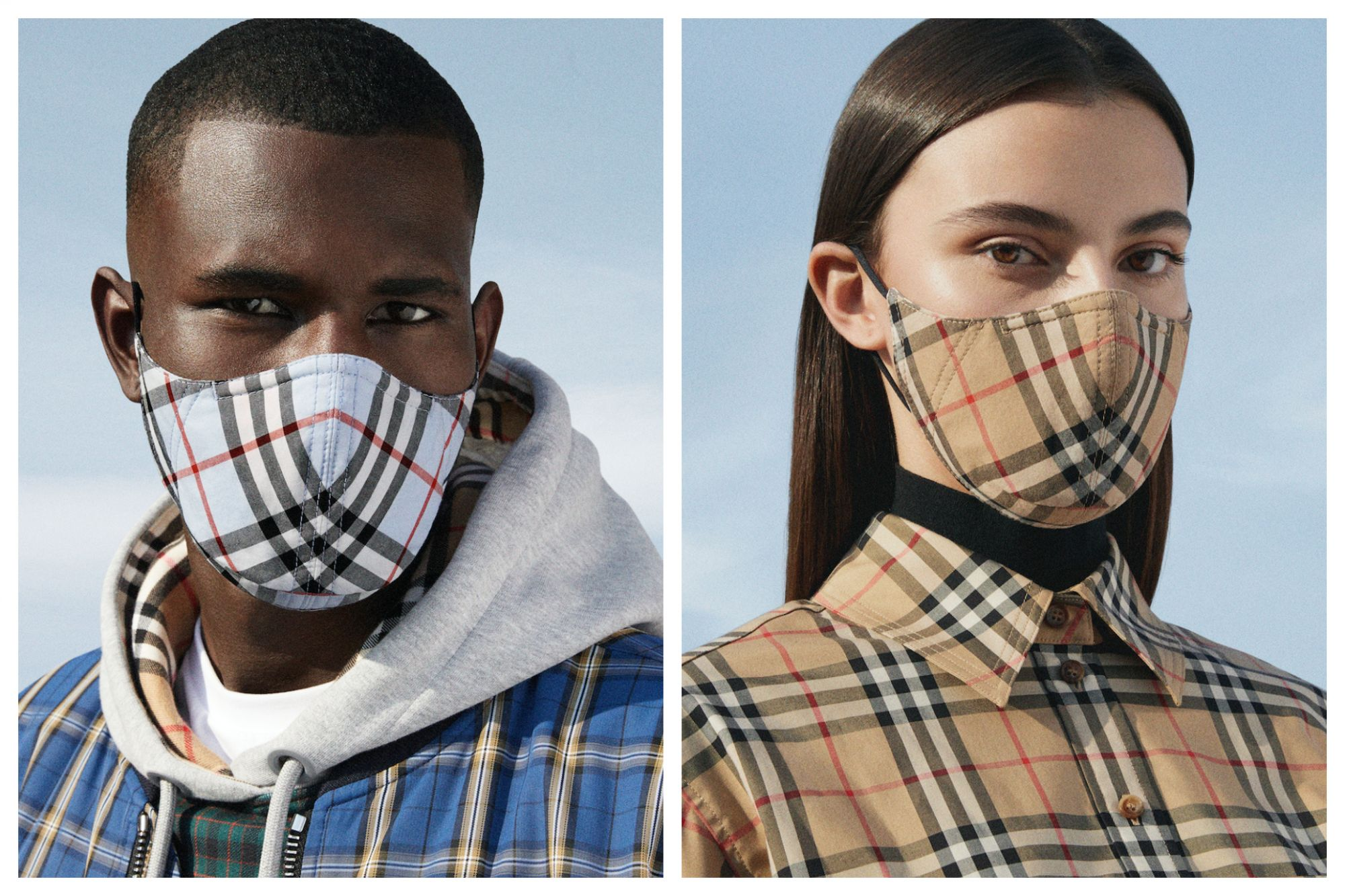 Burberry Has Launched Reusable Face Masks, And is the First Luxury Fashion House to Do So