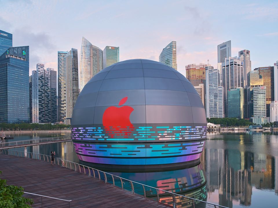 Apple Marina Bay Sands Will Be the Tech Giant's First Floating Store in the World