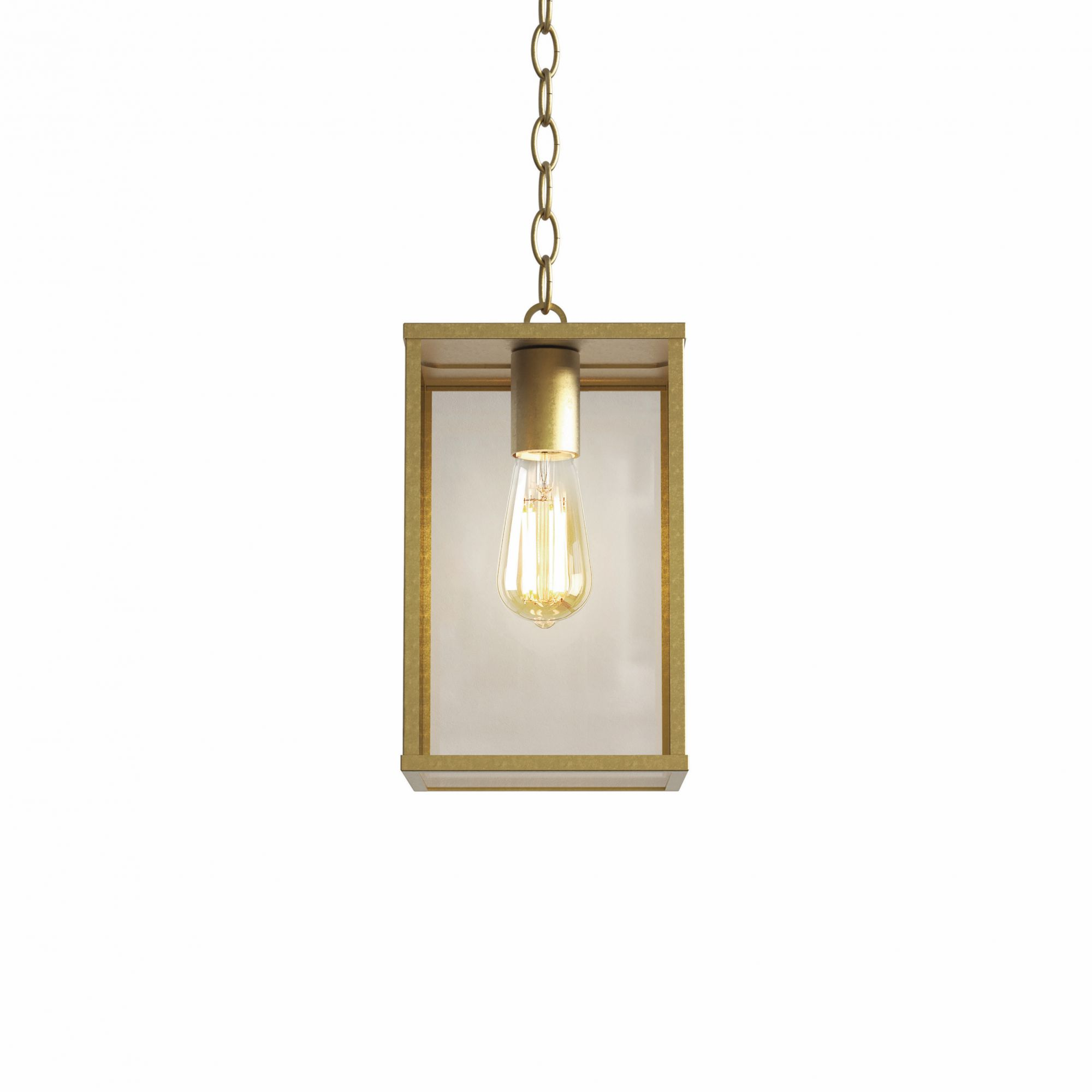 When using green, opt for lighting pieces with brass detailing such as the Homefield pendant lamp from Astro Lighting