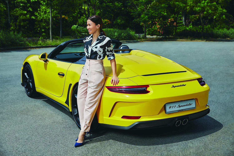 Real Estate Veteran Sammi Lim Tells Us Why She Loves the New Porsche 911 Speedster