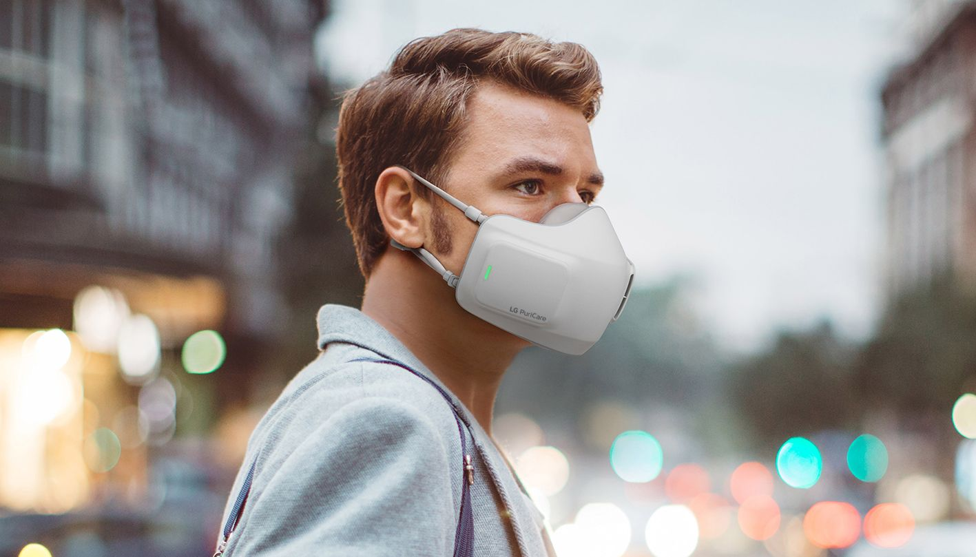 LG to Launch a New Smart Face Mask that May Filter Viruses and Air Pollution
