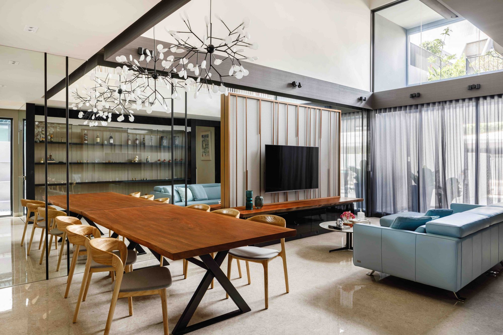 How This Singapore Firm Colourfully Combines Art And Design In Its Home Designs