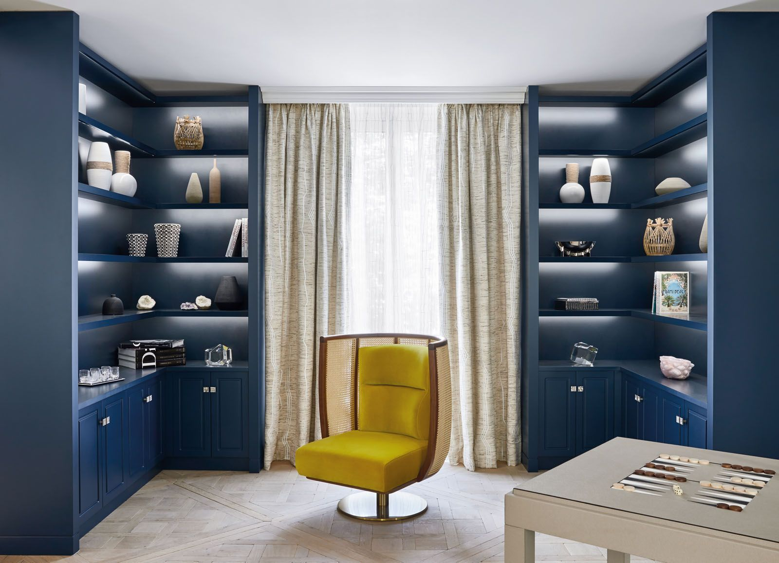 15 Beautiful Blue Rooms Designed For Work And Play